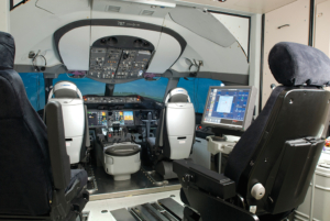First B787 for Japan Airline Cpocpit view