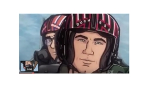 Archer as Maverick